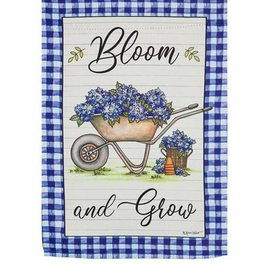 Evergreen - Bloom And Grow Garden Flag