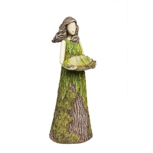 "Evergreen - Sherwood ""Fern"" Statuary/Birdfeeder"