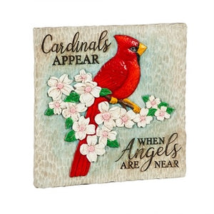 Evergreen - Garden Stone, Cardinals Appear when Angels are Near