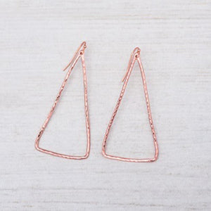 Glee - Modern Earrings - Rose Gold
