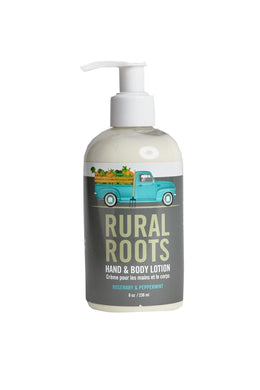 RURAL ROOTS- Hand & Body Lotion - Walton Wood Farms