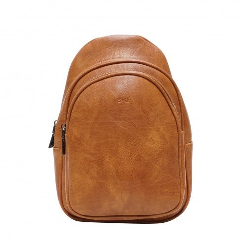 SQ LESLIE Sling Bag Camel