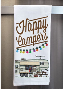 Happy Campers 5th Wheel - Dish Towel