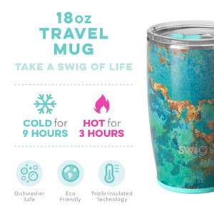 NEW Copper Patina SWIG Insulated Mug 18onz