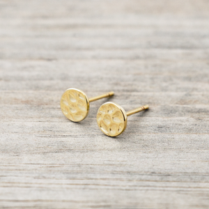Glee - Full Moon Studs, Gold