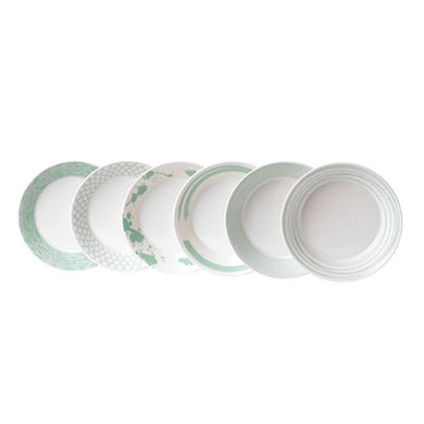 RD- Pacific Mint Pasta Bowl, Set of Six