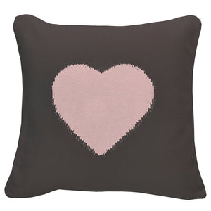 Pretty Heart Cushion 18x18