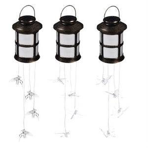 Evergreen - Solar Mobile Round Lantern, Assortment