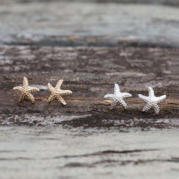 Glee - Crested Star Studs, Gold