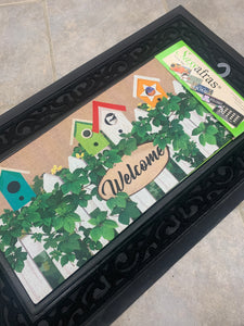 BIRDHOUSE WELCOME Sassafras Switch Mat