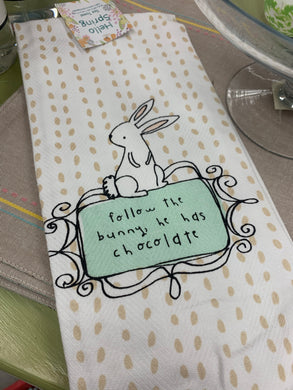 Easter Dishtowel