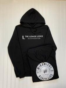 COLAB Lower Ledge & MRL Unisex Hoodie - Black