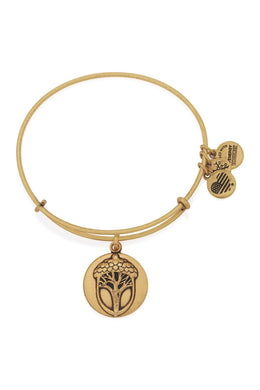 Alex and Ani - Unexpected Miracles II Expandable Charm Bangle, Gold Finish