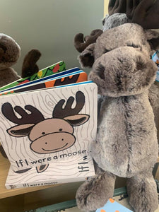 JELLYCAT Bashful Moose teddy bear