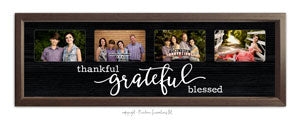 """Thankful-Grateful-Blessed""  Sign"