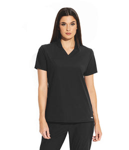 Grey's Anatomy Edge: Women's Hi Low Collar Polo