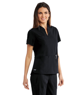 Grey's Anatomy Signiture: Women's Split Neck Tunic