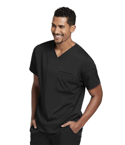 Grey's Anatomy Men's Sleeve Welt V-Neck Top