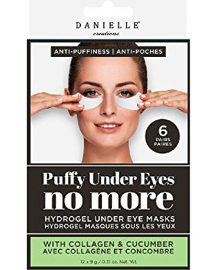 Danielle Anti-Puffiness Hydrogel Under Eye Mask (6 Pairs)