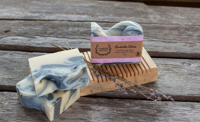 RUSTIK Hand and Body Soap - Lavender Citrus