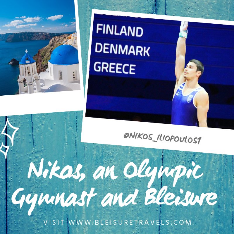 Nikos, an Olympic Gymnast and Bleisure
