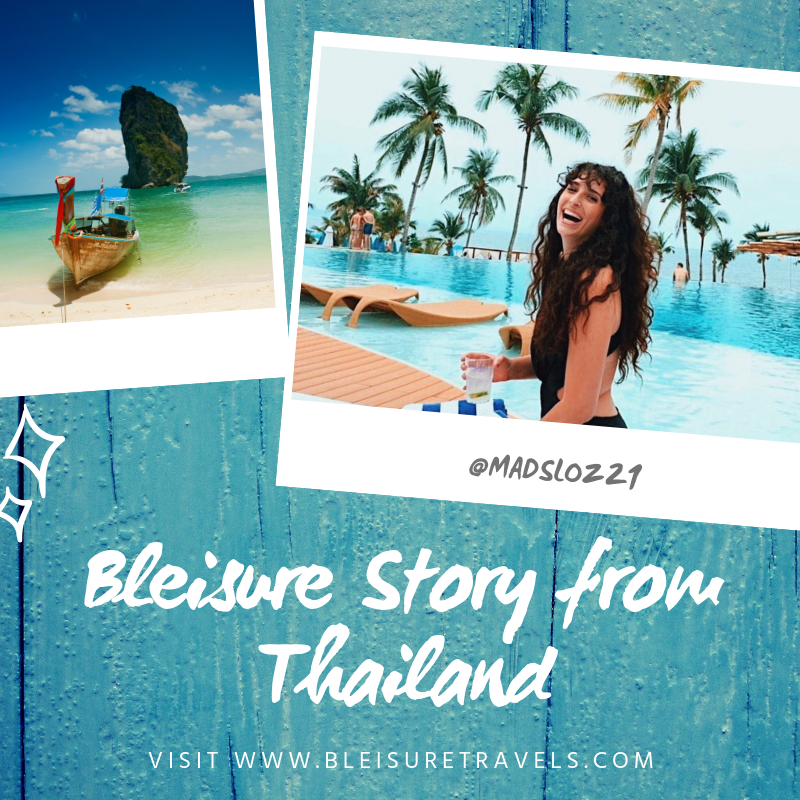 Bleisure Story from Thailand