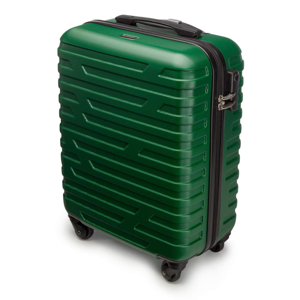 WITTCHEN Arrow Line Hand Luggage, 54 cm, Green (Grün)