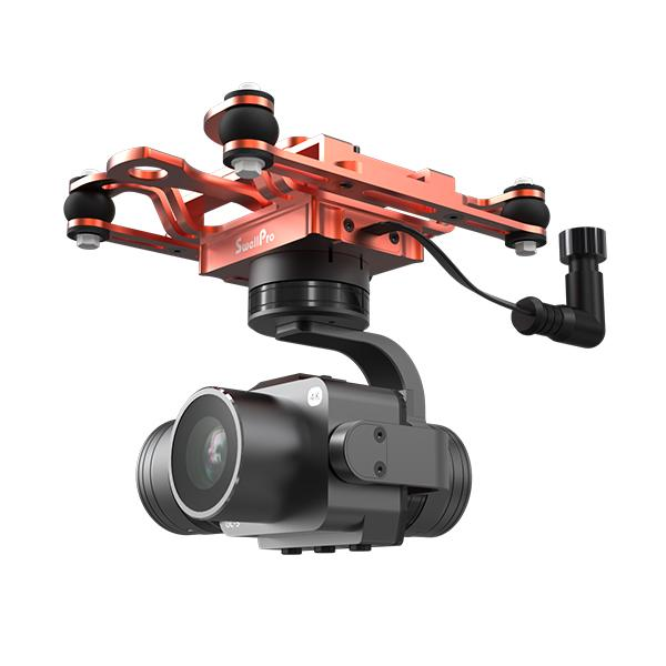 WATERPROOF 3 AXIS GIMBAL 4K CAMERA FOR SPLASHDRONE 3+-SwellPro Store