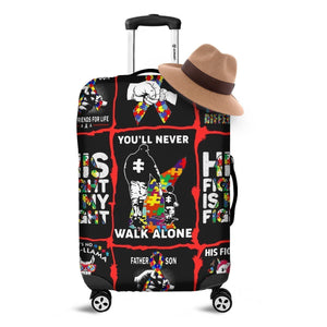 Autism Luggage Cover