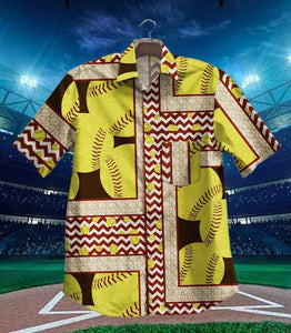 2019 Hot Softball Vintage Hawaiian Shirt