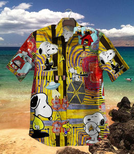 2020 Hot Dog Star Trek Vintage Hawaiian Shirt 100% Cotton