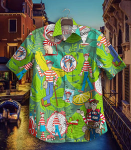 2020 Hot Waldo GT Vintage Hawaiian Shirt