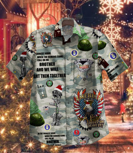 2020 Hot Army Christmas BL Vintage Hawaiian Shirt
