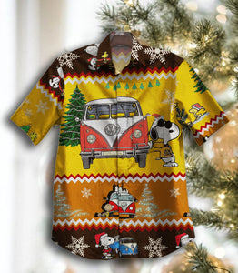 2020 Hot Snoopy Vans Christmas GT Vintage Hawaiian Shirt