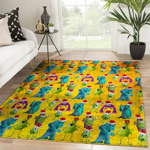 2019 Hot Monsters Inc DH printing Rug