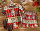 2020 Hot Santa Typo ADV hawaiian shirt 100% Cotton
