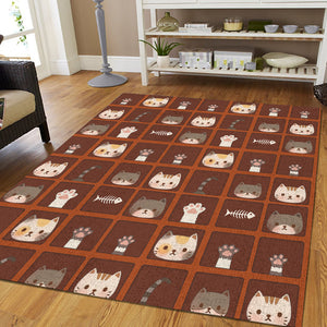 2019 Hot Cats GT01 printing Rug