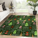 2019 Hot Christmas Tree NV printing Rug