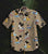 Mickey GT1119 Vintage Hawaiian Shirt 100% Cotton