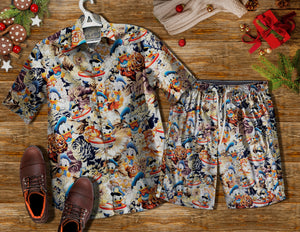 Donal Duck AD1150 Vintage Hawaiian Shirt