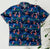 Captain Hook GT1159 Vintage Hawaiian Shirt 100% Cotton