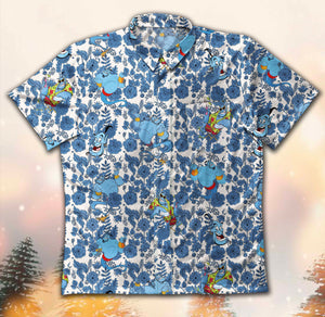 Genie Aladdin 1626 Vintage Cotton Hawaiian Shirt