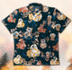 Stars war and cats GT1319 Vintage Hawaiian Shirt