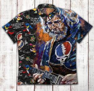 Grateful Dead 1640 Vintage Cotton Hawaiian Shirt