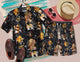Star Wars 1417 Vintage Cotton Men's Hawaiian Shirt