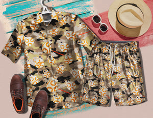 Robot BB-8 1435 Vintage Cotton Hawaiian Shirt