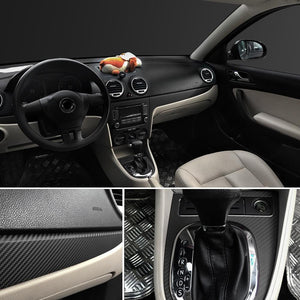 3D Carbon Fiber Vinyl Car Wrap Decals