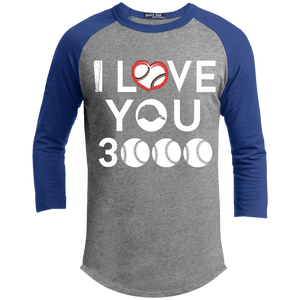 I Love You 3000 Baseball T-Shirt