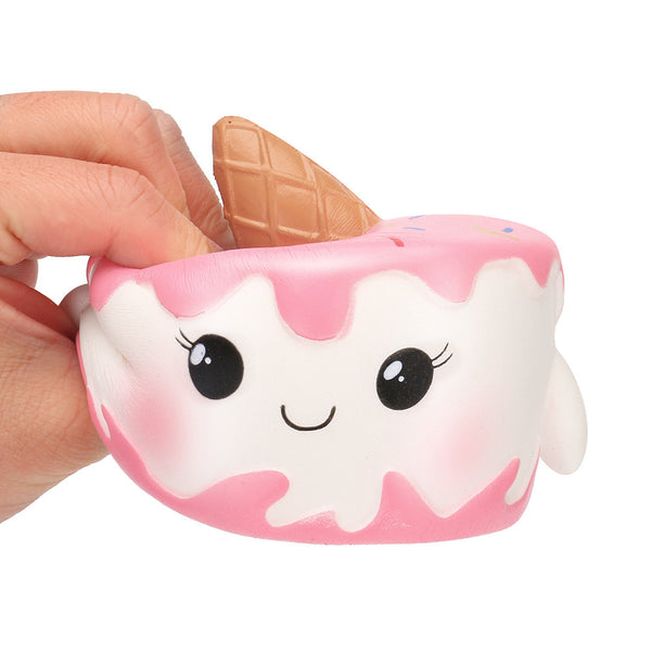 Kawaii Jumbo Cake Squishy