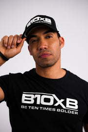 B10xB Black & White Hat